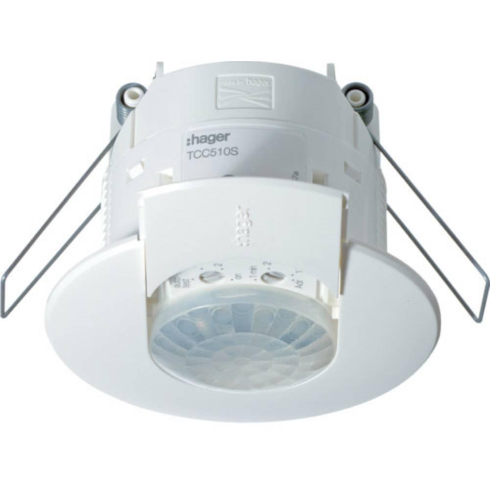 Hager TCC510S strop javljalnik gibanja 360 ° polarno bela