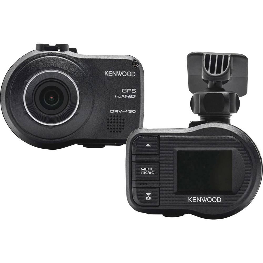Kenwood DRV430 avtomobilska kamera z gps-sistemom Razgledni kot - horizontalni=128 ° zaslon