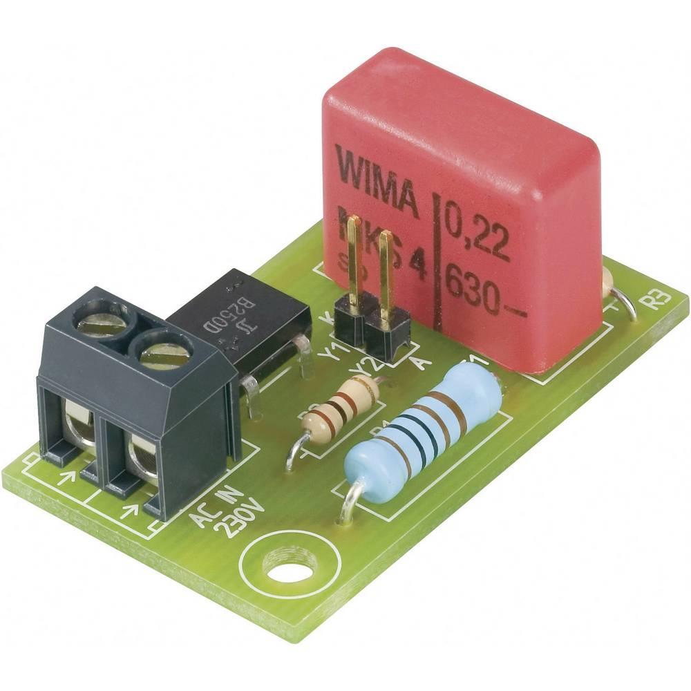 LED-printplade 230 V/AC 20 mA Conrad Components