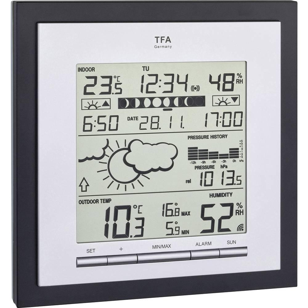 TFA Dostmann Linea Plus 35.1144.01 bežična vremenska stanica Predviđanje za 12 do 24 sata