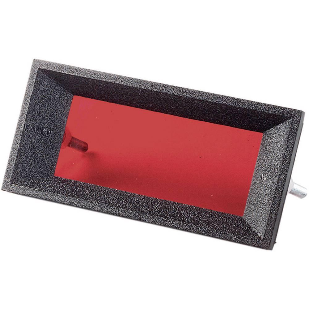 Filtrirno steklo, rdeče (prozorno) Strapubox FS41 Rot