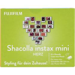 Komplet za pritrditev Fujifilm Instax Mini Shacolla Herz Wand-Deko-Panels 70100142334