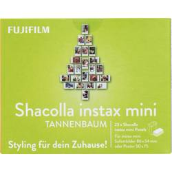 Komplet za pritrditev Fujifilm Instax Mini Shacolla Tannenbaum Wand-Deko-Panels 70100142335