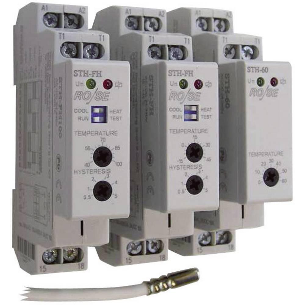 Termostat til opvarmning i kontaktskabe STH-FH Rose LM 240 V/AC, 240 V/DC 1 Schließer (value.1345270)