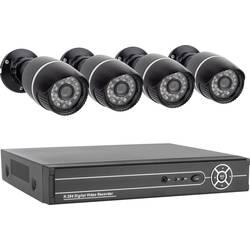 Analogni , AHD Set nadzorne kamere 4-kanalni S 4 kamerami 1280 x 720 piksel 500 GB Smartwares 10.100.97 SW430DVR