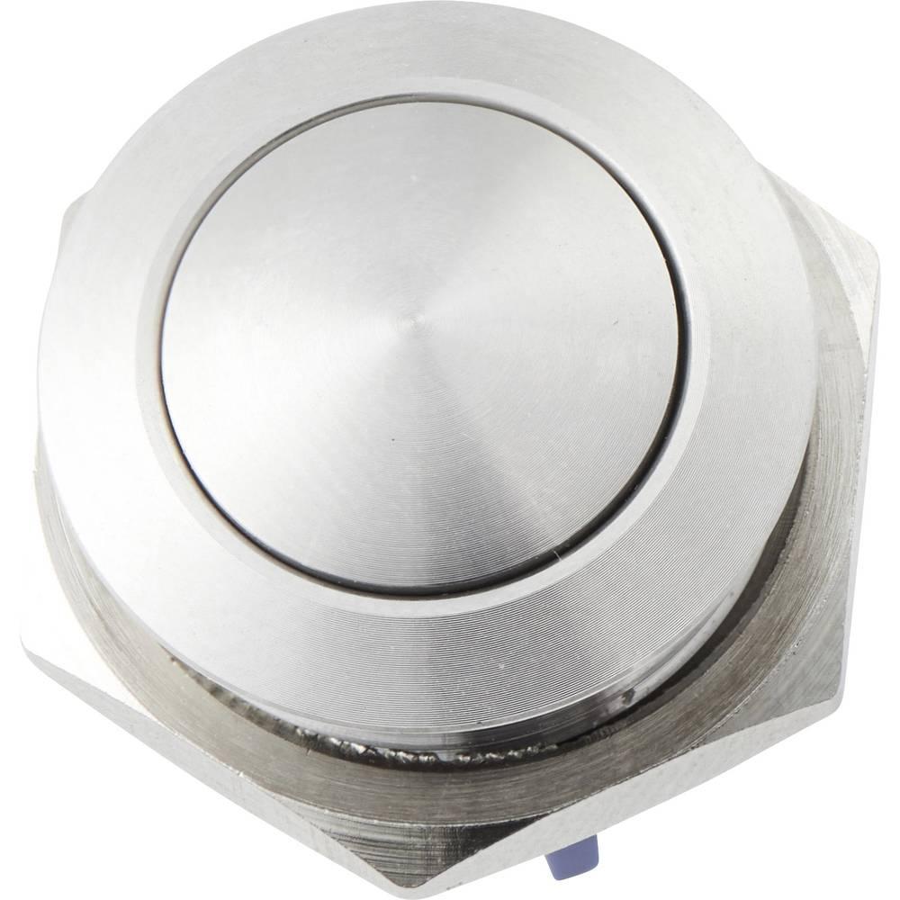 Tipka za zvono 1-struki Heidemann 70522 Plemeniti čelik 48 V AC/2 A