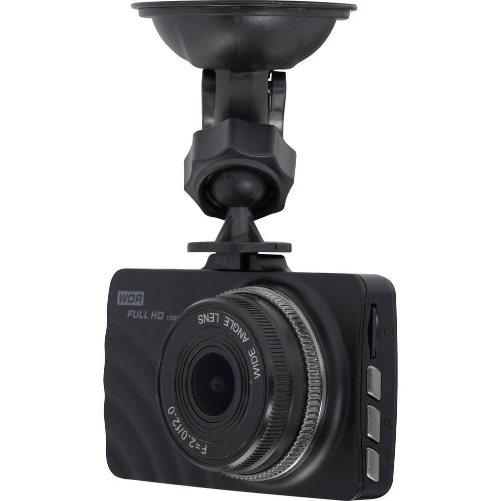 Avtomobilska kamera Denver CCT-2010 Razgledni kot - horizontalni=140 ° Zaslon, Mikrofon