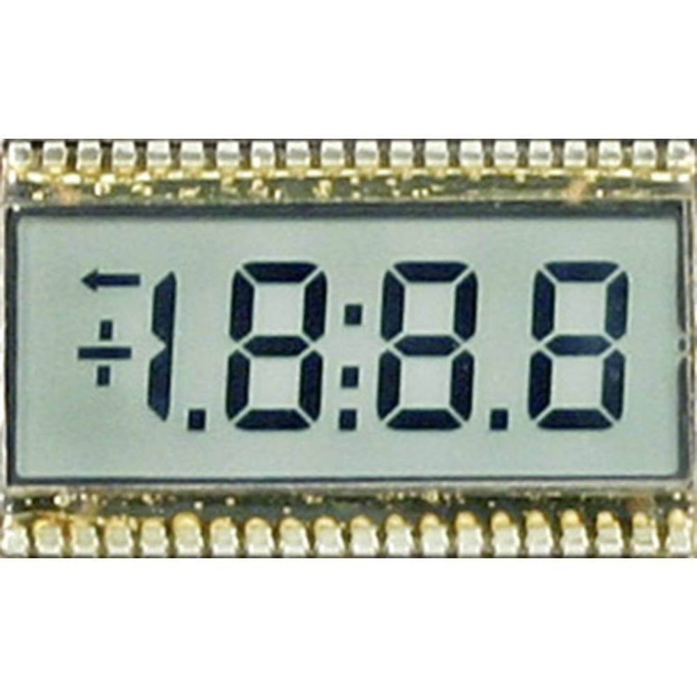 LCD zaslon, crna, bijela (Š x V) 50.8 mm x 30.5 mm SE 6904