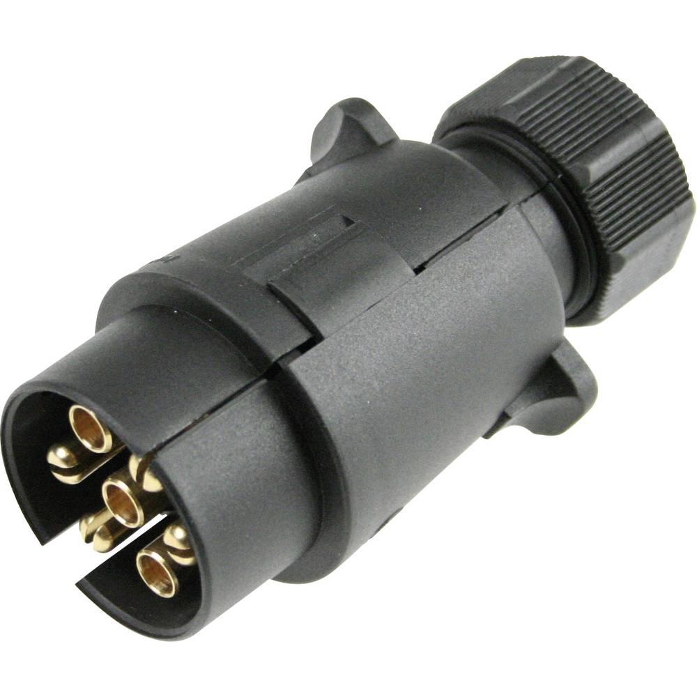 Priklopni vtič [odprti konci kablov- vtič 7 pinski] as - Schwabe 60462