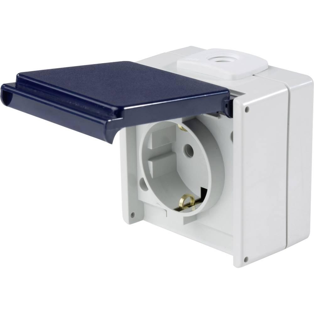 as - Schwabe 62460 vtičnica s površinsko montažo IP54