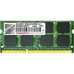Transcend Notebook pomnilniški modul TS512MSK64V1N 4 GB 1 x 4 GB DDR3-RAM 1066 MHz CL7