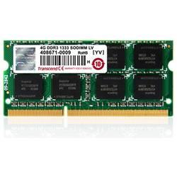 Transcend notebook pomnilniški modul TS512MSK64V3H 4 GB 1 x 4 GB ddr3-ram 1333 MHz CL9 9-9-9