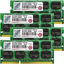 Transcend Notebook pomnilniški komplet TS32GJMA584H 32 GB 4 x 8 GB DDR3-RAM 1600 MHz CL11 11-11-11
