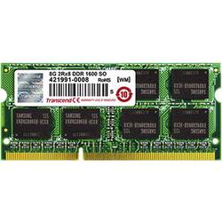 Transcend notebook pomnilniški komplet TS8GJMA424H 8 GB 2 x 4 GB ddr3-ram 1600 MHz CL11 11-11-11