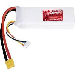 Graupner akumulatorski power pack 4s 1600 mah Primerno za: Graupner Sweeper Droneball