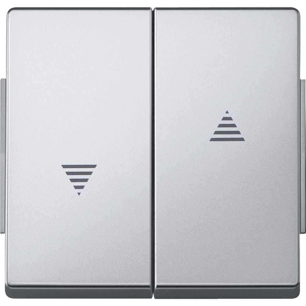 Merten Pokrov Stikalo za izklop/preklop Aqua design Aluminij 343460