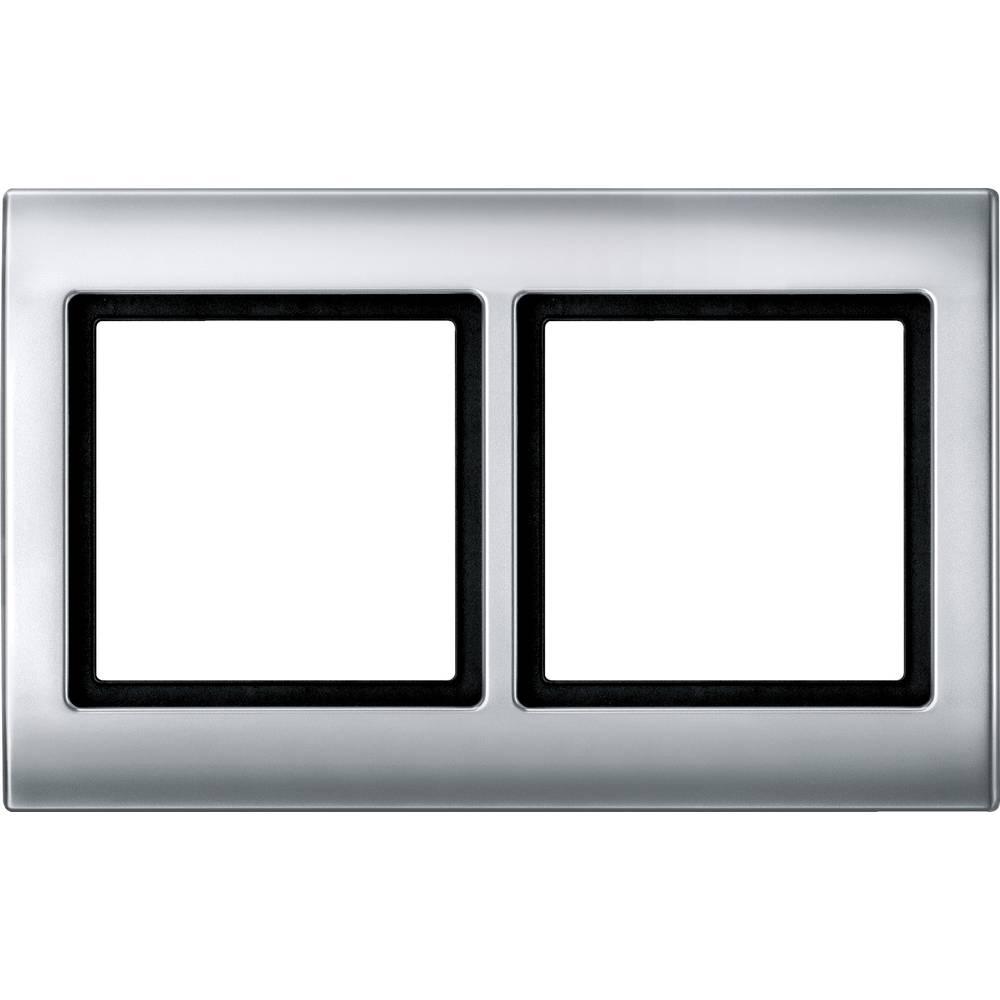 Merten Okvir Pokrov Aqua design Aluminij 400260