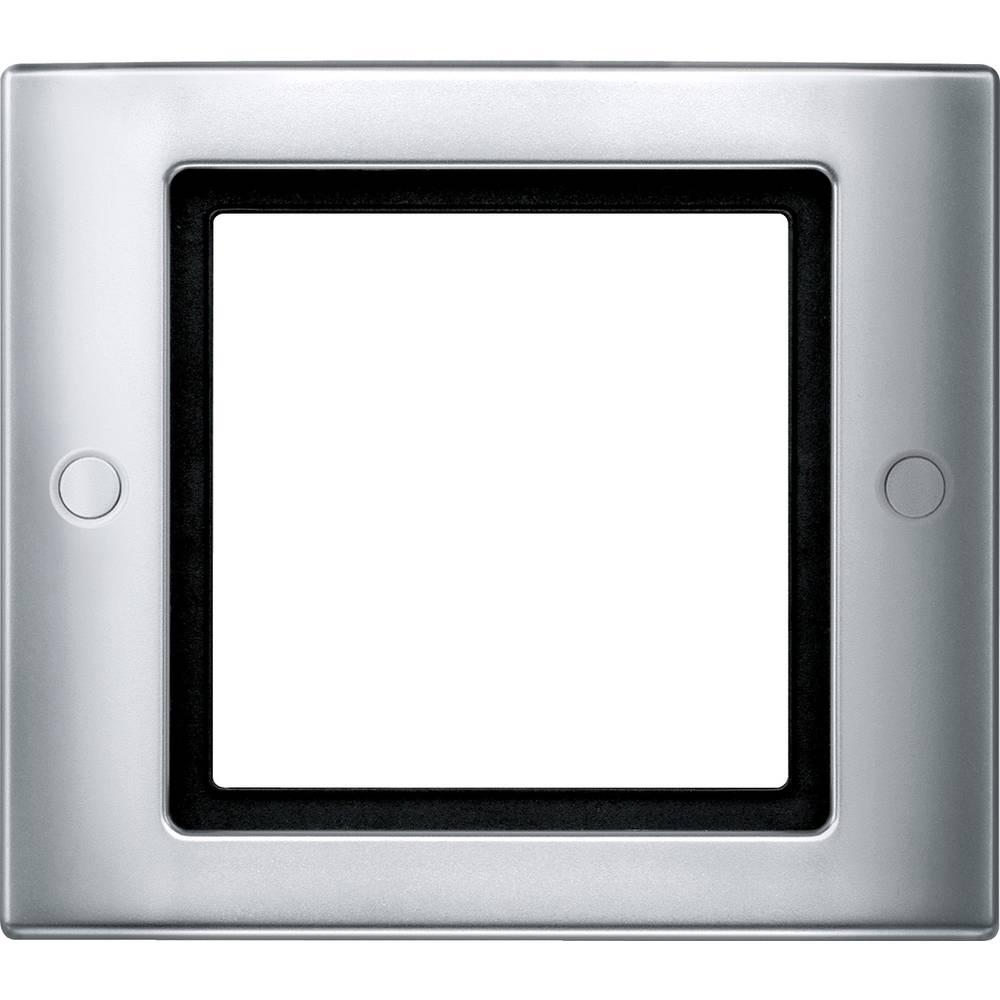 Merten Okvir Pokrov Aqua design Aluminij 401160