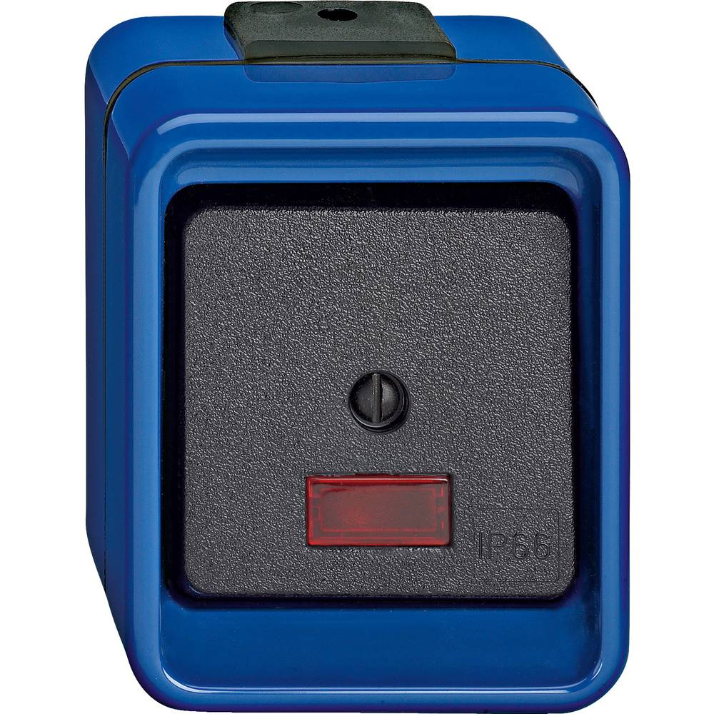 Tipkalo IP66 Modra Merten 375975