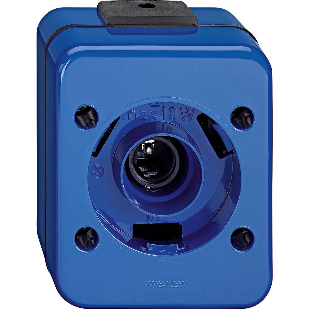 Vložek za osvetlitev IP44 Modra Merten 378075