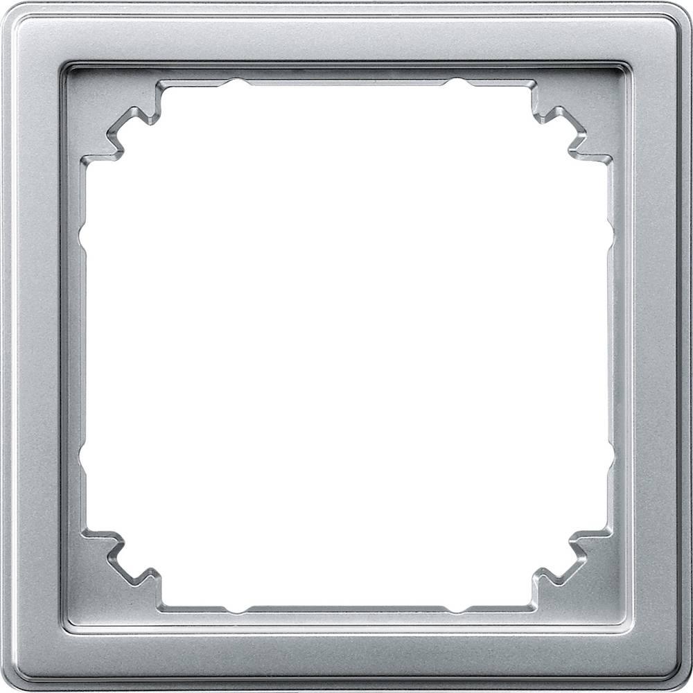 Merten Vmesni okvir Aqua design Aluminij 518360
