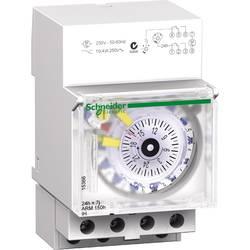 DIN časovna stikalna ura Analogno Schneider Electric 15366 230 V