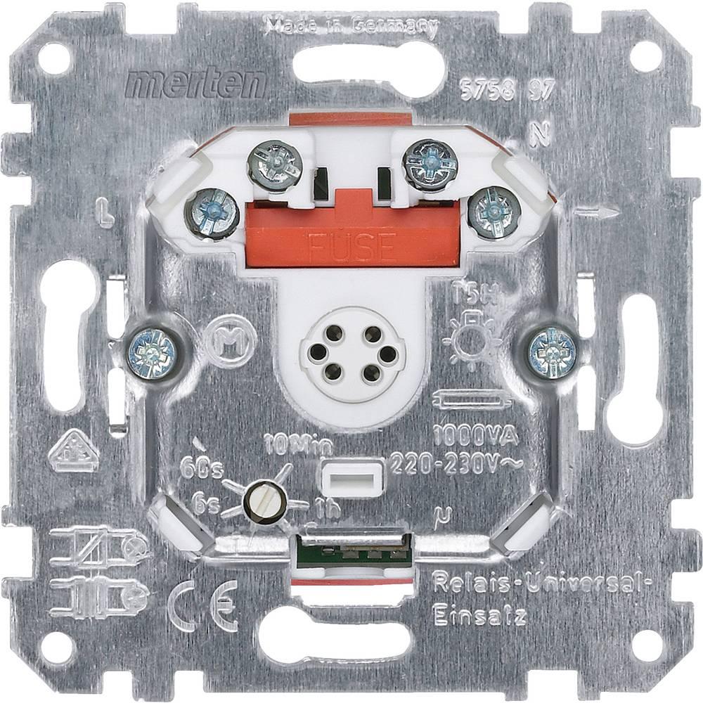 Podometni zatemnilnik Primerno za svetilke: Halogenska žarnica Aluminij Merten 575897