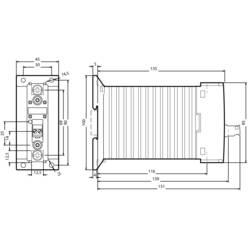 Halvledarkontaktor Omedelbar 1 st 3RF2340-1BA02 Siemens 1 NO 40 A