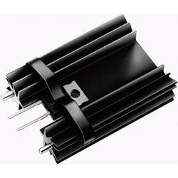 Profilkølelegeme 14 K/W (L x B x H) 34.9 x 25.4 x 12.7 mm TO-220 Fischer Elektronik SK 104 25,4 STC-220 + THF 104