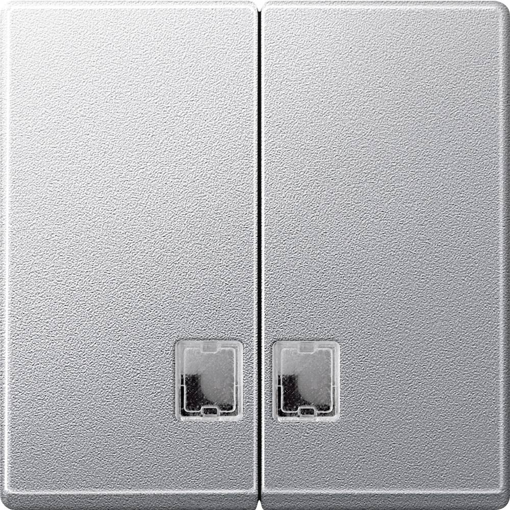 Merten Pokrov Stikalo za izklop/preklop Sistem M Aluminij 437560