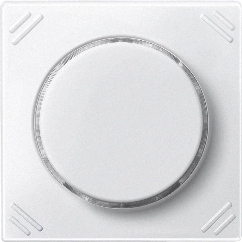 Vrtljivi gumb Polarno bela Merten MEG5252-0419