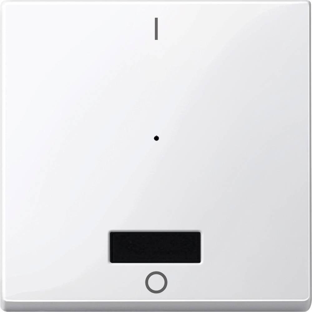 Tipka za stikalo IP20 Polarno bela Merten MEG5213-0319