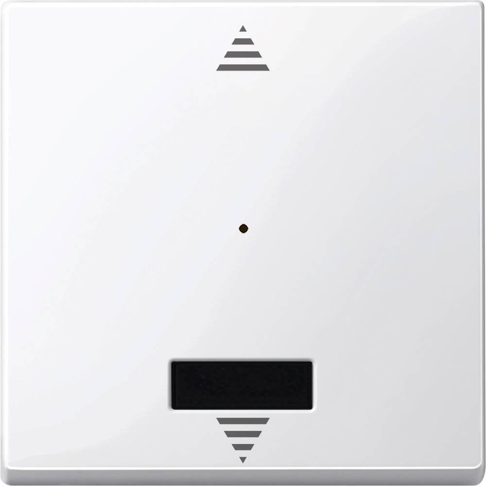 Tipka za stikalo IP20 Polarno bela Merten MEG5214-0319