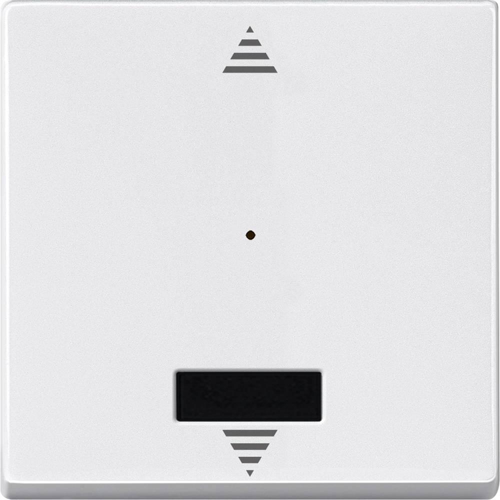 Tipka za stikalo IP20 Polarno bela Merten MEG5214-0419