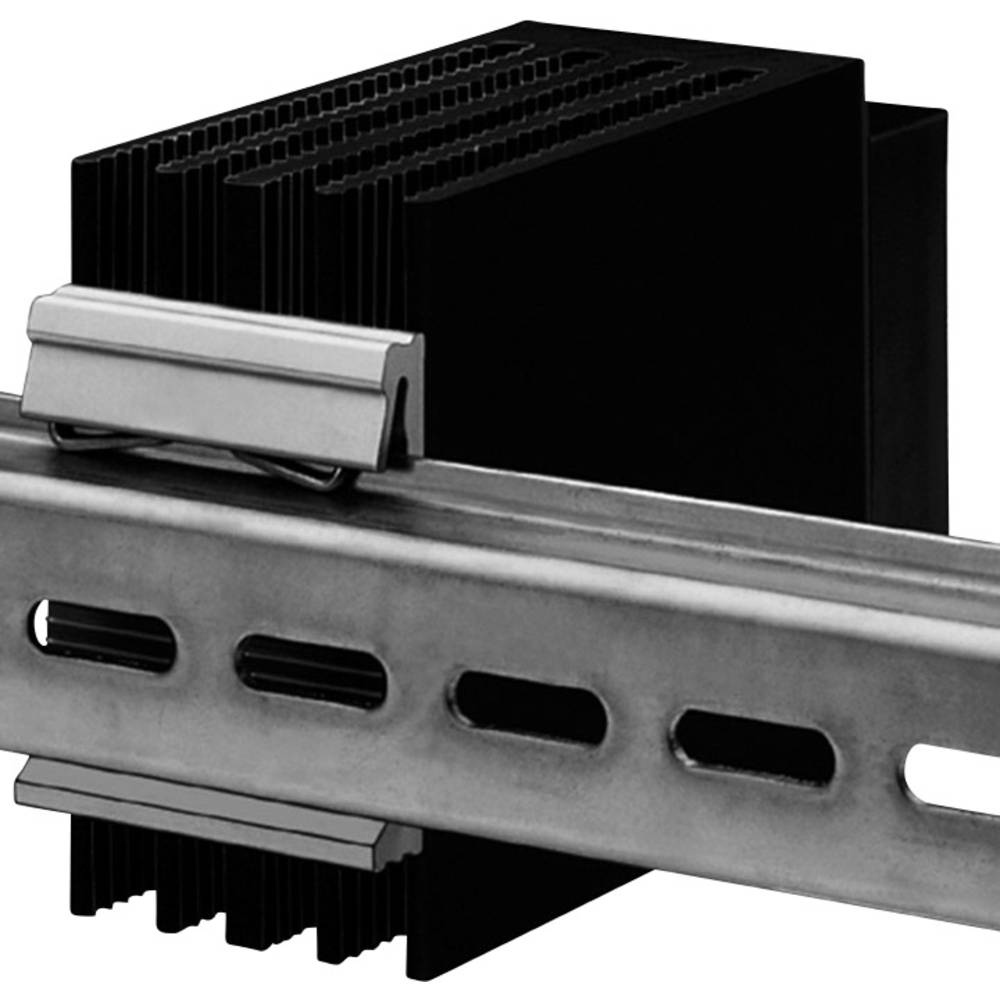 Kølelegeme-Klemmefastgøring til DIN-skinne Fischer Elektronik KL 35-50 (L x B x H) 50 x 8.5 x 50 mm
