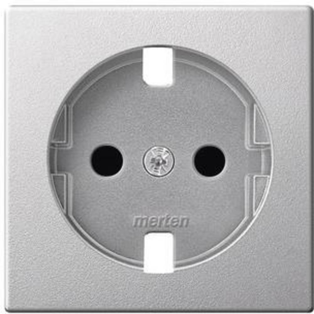 Okvir Otroška zaščita Aluminij Merten MEG2330-0460