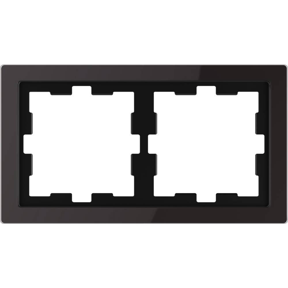 Merten Okvir Pokrov Oblikovalni sistem Onix črna MEG4020-6503