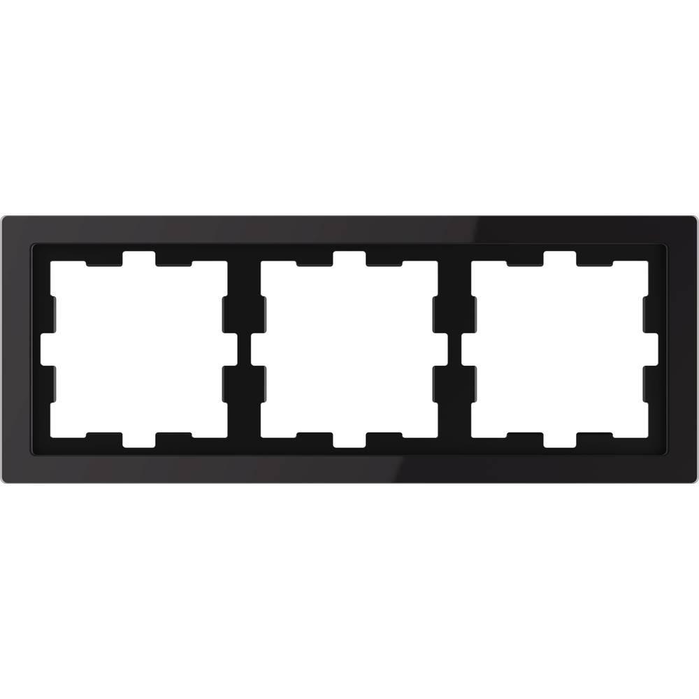 Merten Okvir Pokrov Oblikovalni sistem Onix črna MEG4030-6503