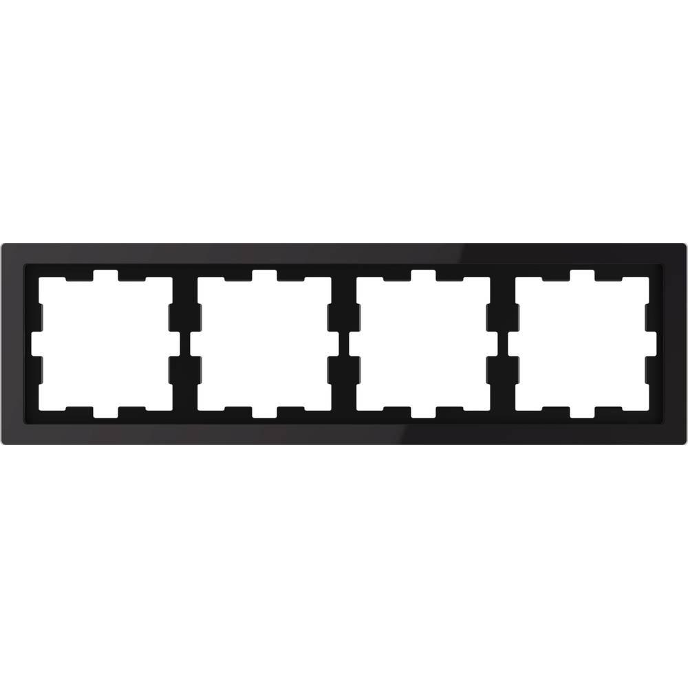 Merten Okvir Pokrov Oblikovalni sistem Onix črna MEG4040-6503