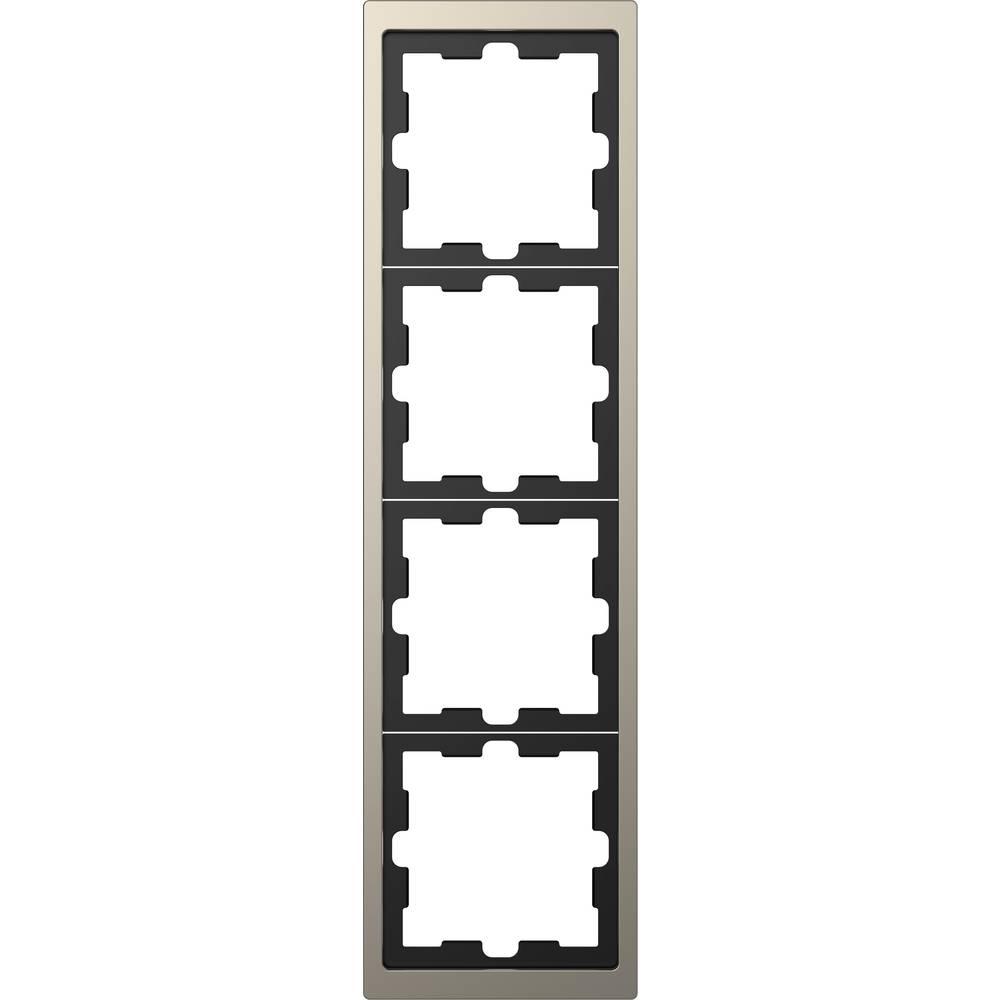 Merten Okvir Pokrov Oblikovalni sistem Nikelj MEG4040-6550