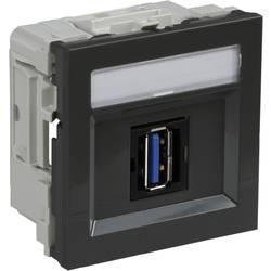 Schneider Electric INS64215 Kabelske kanalice Schneider INS64215 USB 3.0 umetak Tamnosiva
