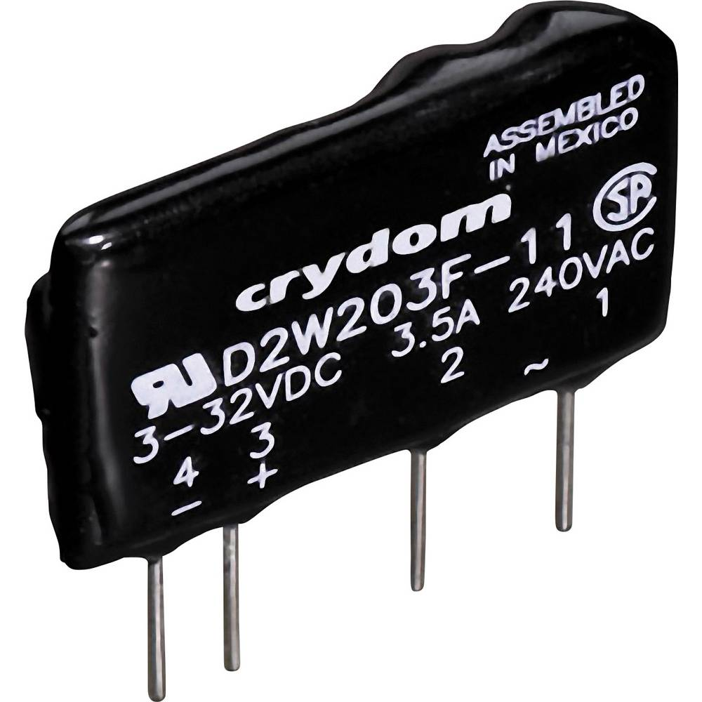 CRYDOM D2W202F-Elektronski relej preopterećenja SIP Print D2W, teretni napon 2A,24-280V/AC