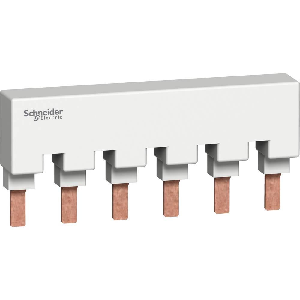 Zbiralne tračnice Svetlo siva 6-polni 115 A 277 V/AC Schneider Electric M9XUP106