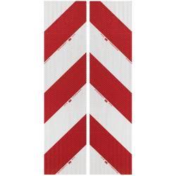 3M High Intensity Grade 3410 3410AP14 Bela (odsevna), Rdeča (odsevna) (D x Š) 9 m x 141 mm Za pakete, Leva nastavitev, Desna nas