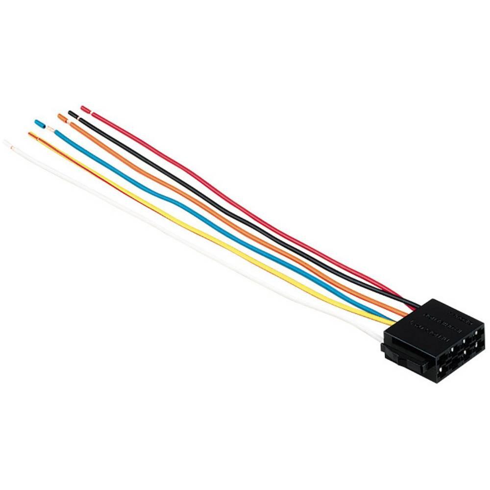 ISO-adapter z moškim konektorjem Hama universal, ISO-Stecker Stromversorgung