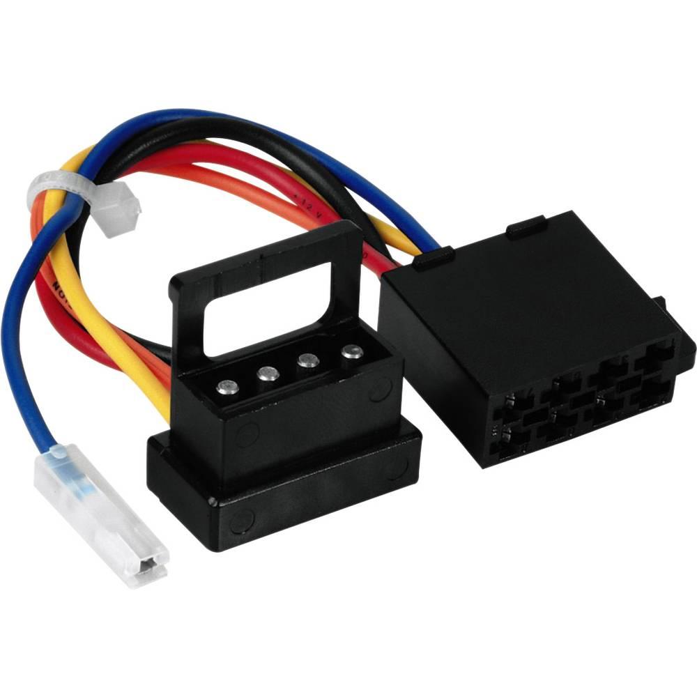 ISO-adapter z moškim konektorjem Hama ISO für Mercedes