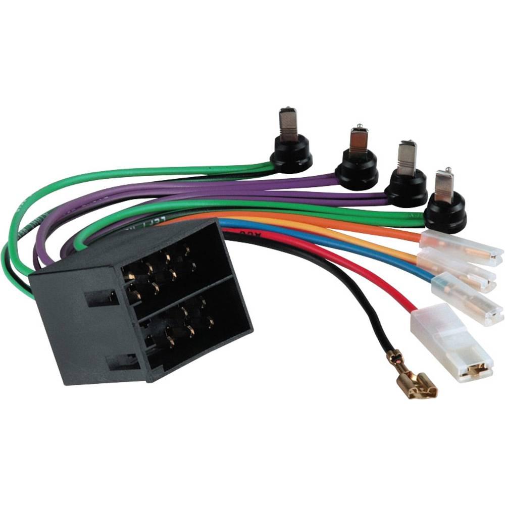 ISO-adapter z moškim konektorjem Hama ADAPT. KFZ OPEL LA/+/-DIN