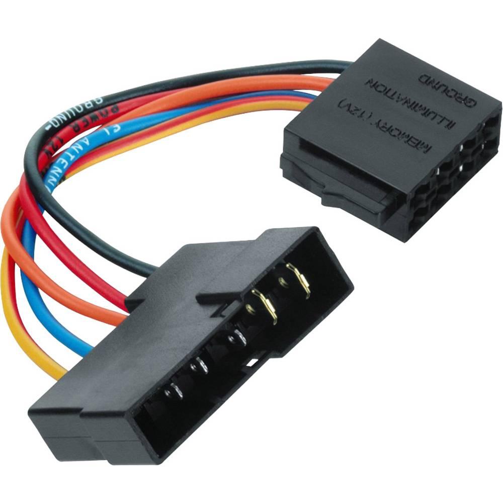 ISO-adapter z moškim konektorjem Hama Universal, DIN - ISO Stromversorgung