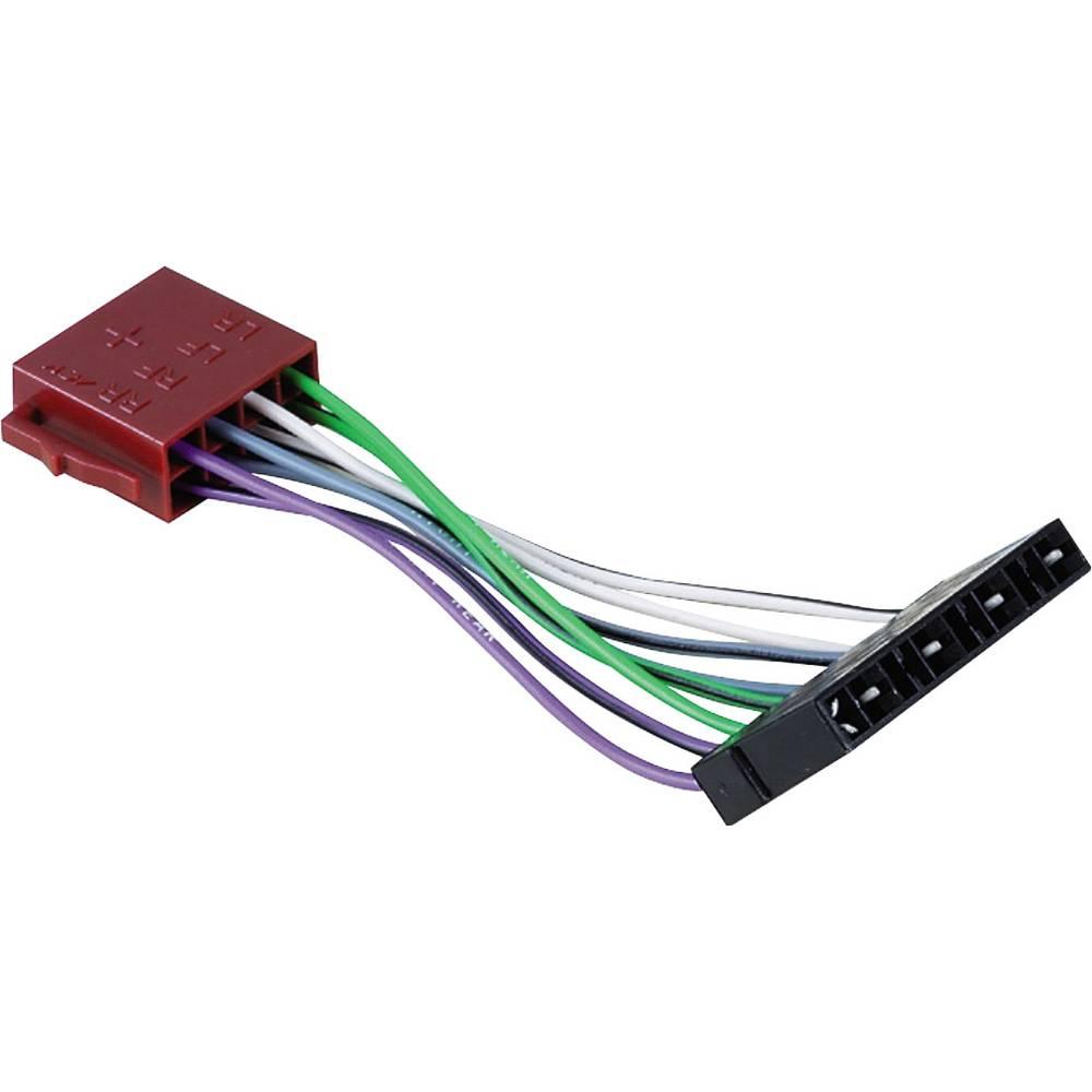 ISO-adapter z moškim konektorjem Hama Universal, DIN - ISO Lautsprecher