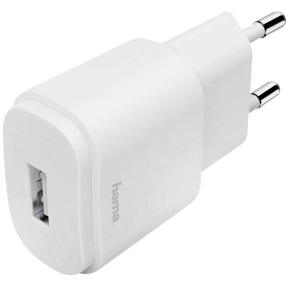 USB napajalnik Hama charger 1.2 183262 Vtičnica Izhodni tok maks. 1200 mA 1 x USB